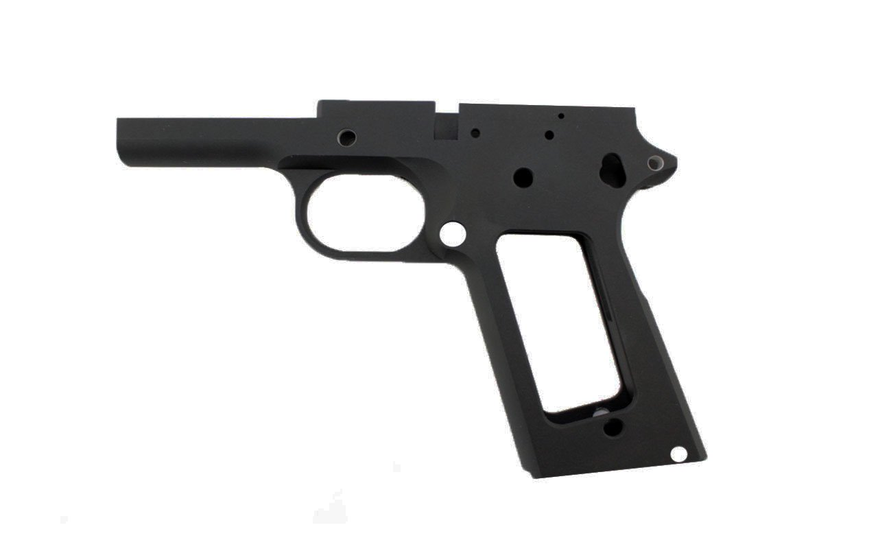 "45 / Government 5"" / Anodized Black Frame"