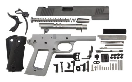 """9 / Government 5"""" / Bead Blasted 1911 Build Kit"""