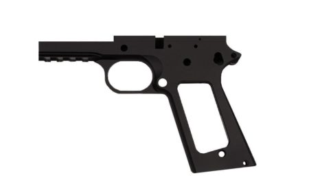 "45 / Government 5"" Tactical  / Anodized Black Frame"