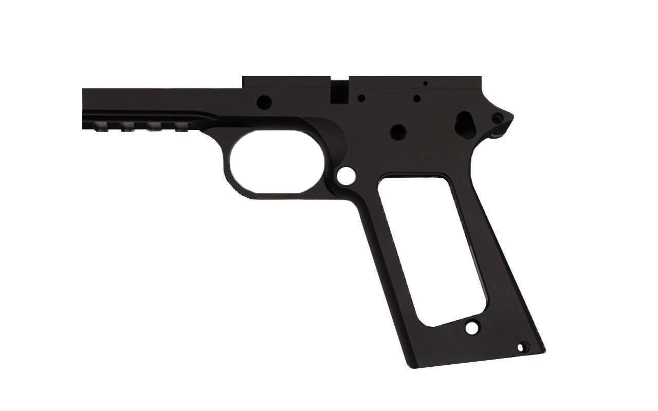 "45 / Commander 4.25"" Tactical  / Anodized Black Frame"